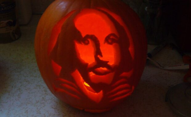 Shakespeare Pumpkin